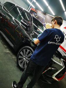 Lexus LX570 покрытие керамикой Opti-Coat Pro