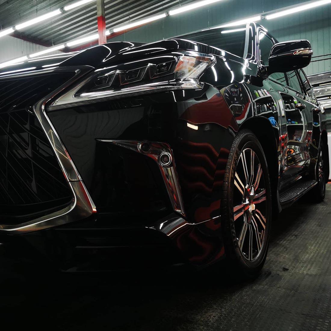 Lexus LX570: керамика Opti-Coat Pro, 5 лет