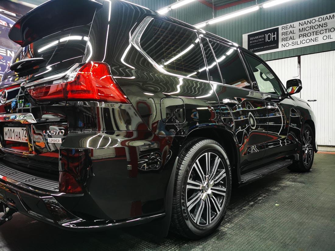 Lexus LX570 - керамика Opti-Coat Pro. 5 лет
