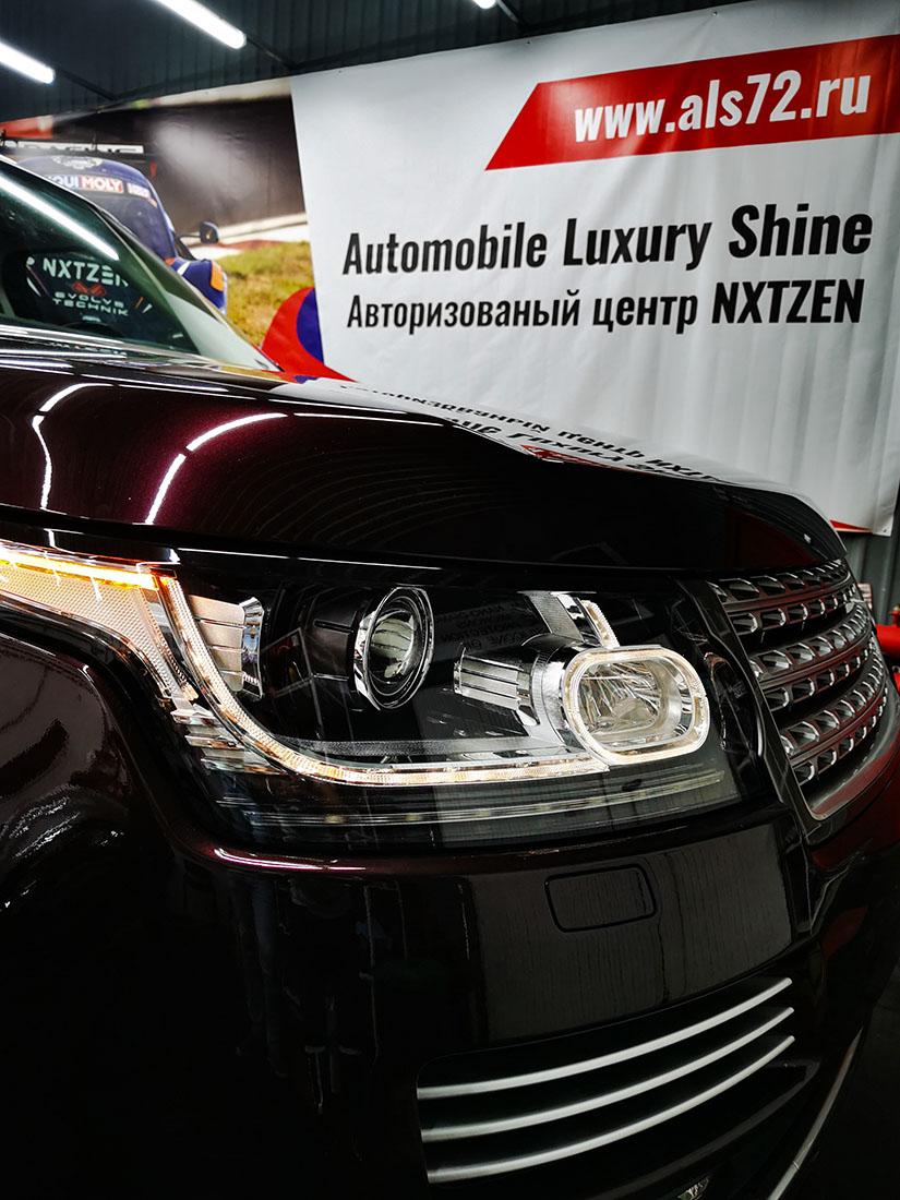 Новый Range Rover: антигравийная пленка+керамика Opti-Coat, USA