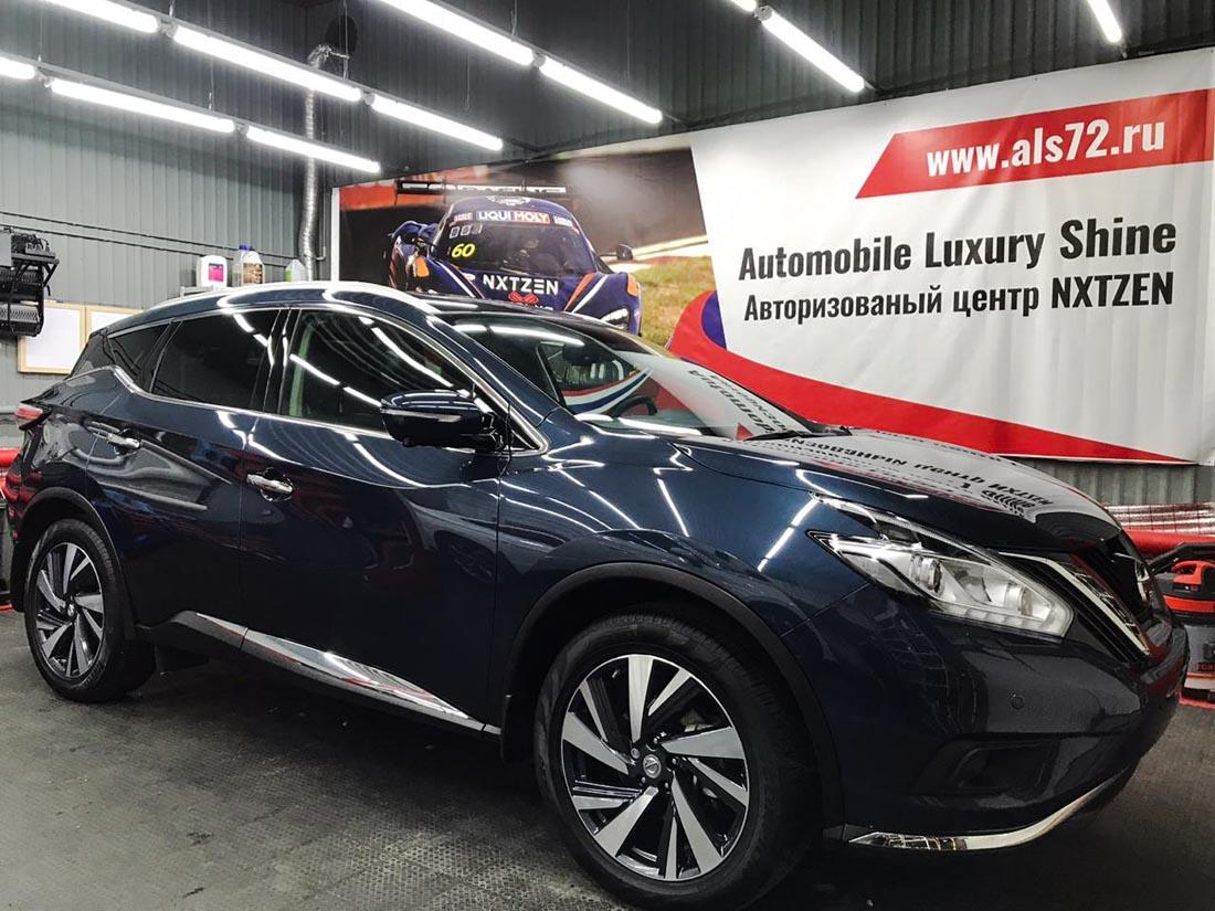 Nissan Murano new: антигравийная пленка + керамика NXTZEN + шумоизоляция