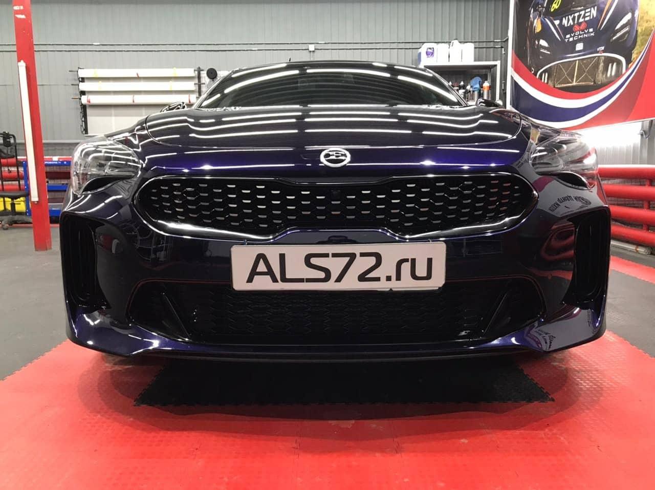 Kia Stinger GT шумоизоляция STP Premium и антихром Avery Dennison