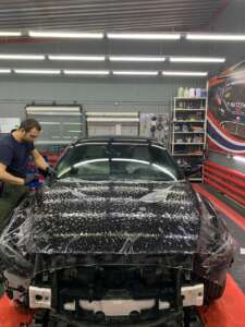 Новая Mazda 6: антигравийная плёнка Quantum Pro + шумоизоляция автомобиля. Тюмень