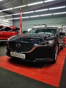Mazda-6 антигравийная плёнка Quantum Pro и шумоизоляция авто