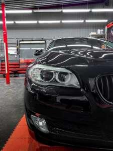 BMW 5: Полировка. Керамика. Химчистка салона. Детейлинг