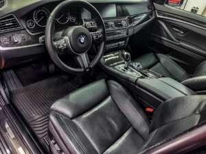 BMW 5 Детейлинг: полировка, керамика, химчистка салона