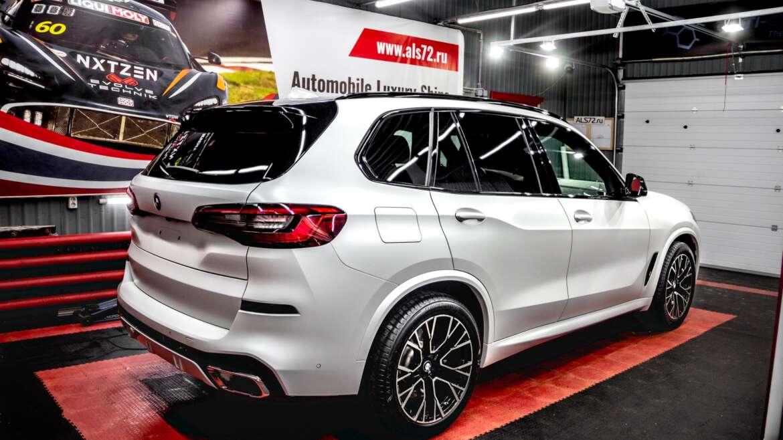 Детейлинг перламутрового BMW X5