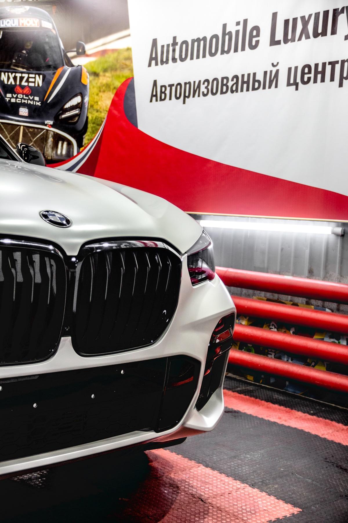 Детейлинг перламутрового BMW X5 Тюмень - детейлинг-студия «АЛС»