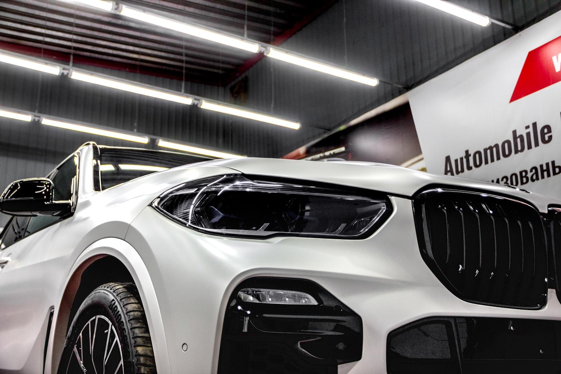 Детейлинг перламутрового BMW X5 в Тюмени - детейлинг-центр «АЛС»