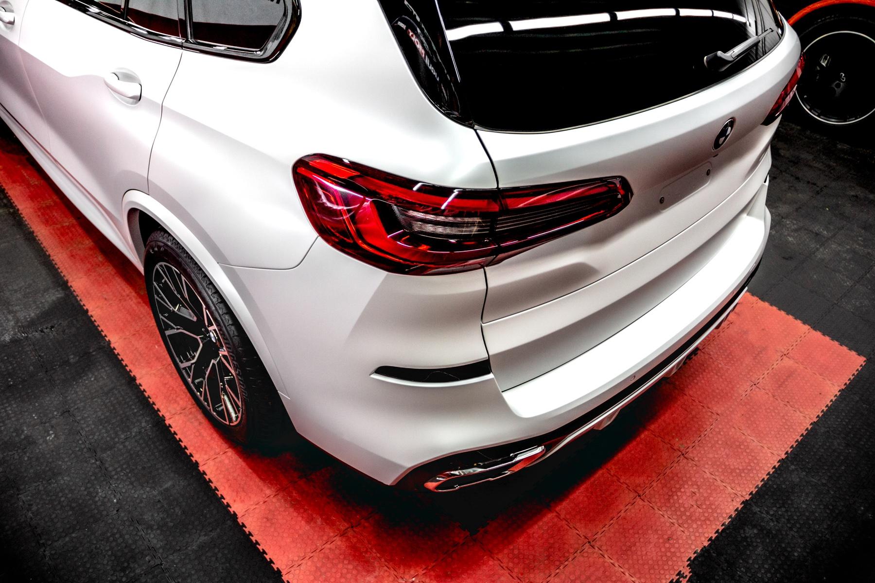 Детейлинг перламутрового BMW X5 в Тюмени «АЛС»