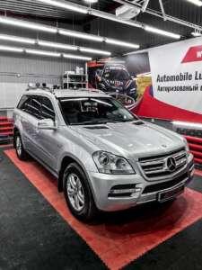 Mercedes Benz GL 350 детейлинг в Тюмени